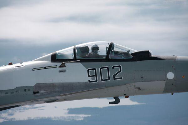 El caza multipropósito Su-35 - Sputnik Mundo