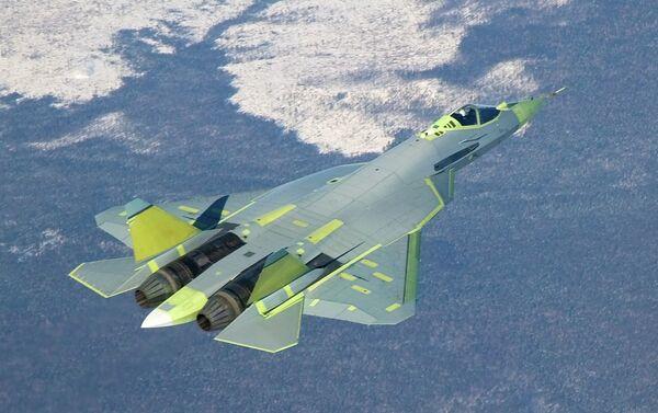 Caza de quinta generación T-50 - Sputnik Mundo