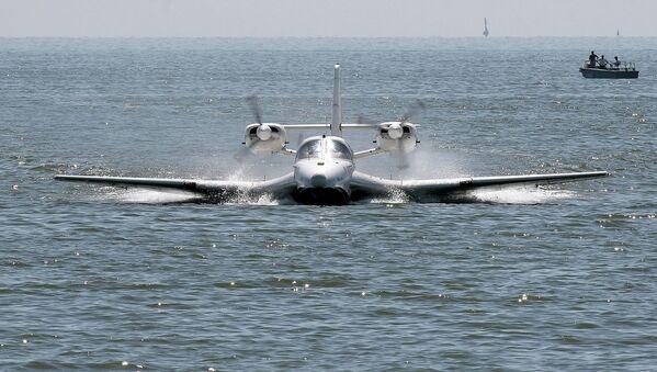 Avión anfibio Be-103. - Sputnik Mundo