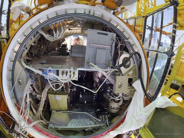 El satélite Foton-M funciona de forma estable en órbita no prevista - Sputnik Mundo