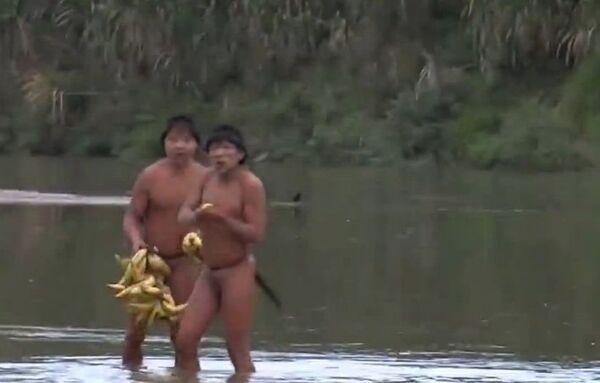 Los indígenas que vivían aislados en la Amazonía brasileña tenían objetos industriales - Sputnik Mundo