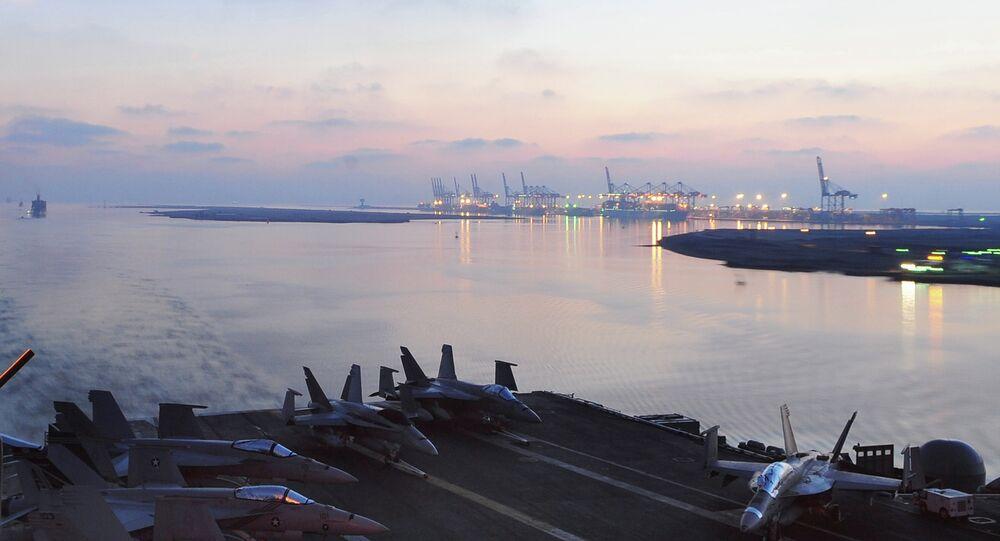 Canal de Suez en Egipto