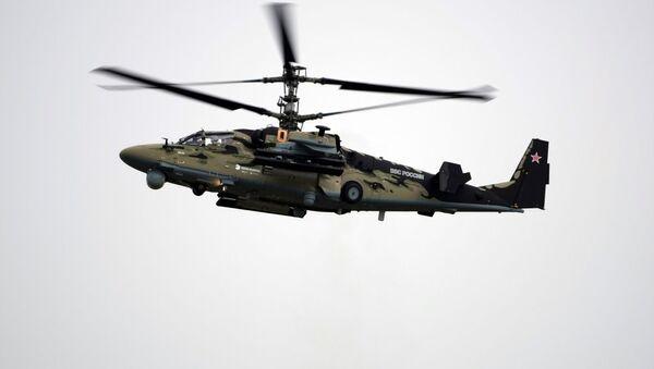 Un helicóptero ruso - Sputnik Mundo