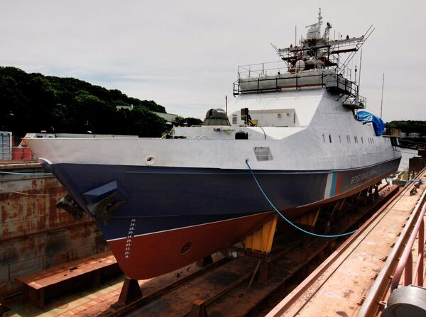 Rusia bota un barco patrullero polivalente - Sputnik Mundo