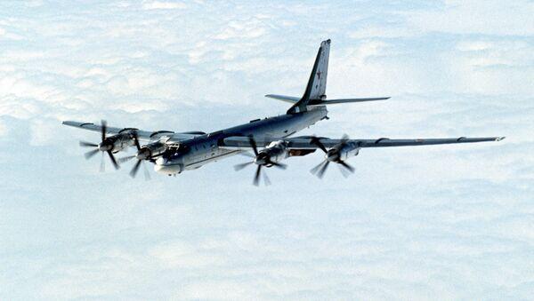 Стратегический бомбардировщик ТУ-95 - Sputnik Mundo