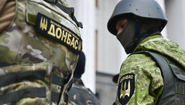 Efectivos del batallón Donbás - Sputnik Mundo