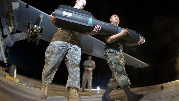 Американская ракета класса «воздух-поверхность» AGM-114 «Хеллфаер» - Sputnik Mundo