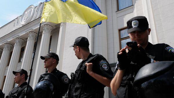 La Policía de Kiev ha recibido este año más de 230 falsos avisos de bomba - Sputnik Mundo