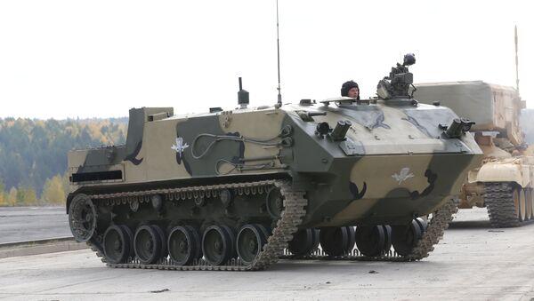 Transporte blindado Rakushka (BTR-MD) - Sputnik Mundo