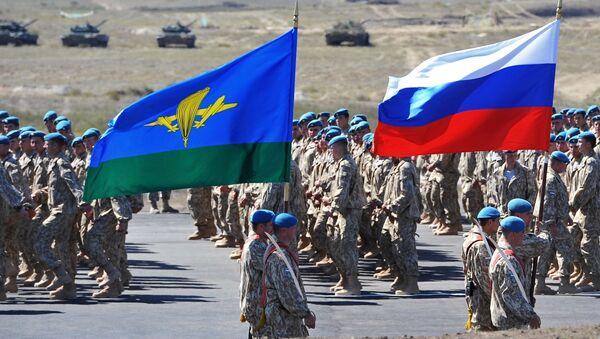 Tropas rusas realizarán un desembarco aéreo en las montañas de Kazajstán - Sputnik Mundo