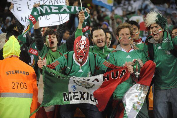 Hinchas mexicanos - Sputnik Mundo