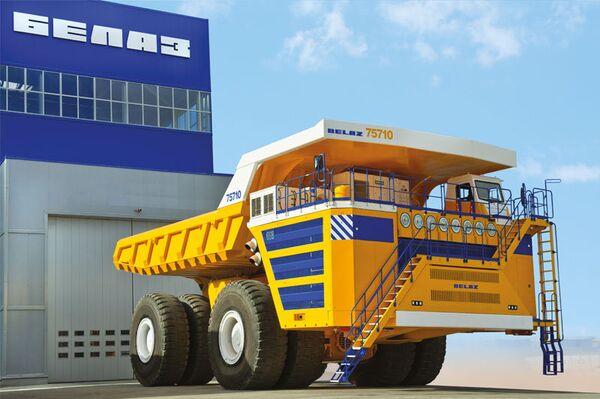 Camión volquete BelAZ-75710 - Sputnik Mundo