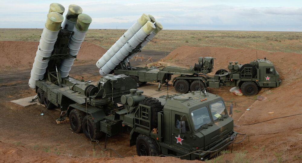 Sistemas antimisiles rusos S-400