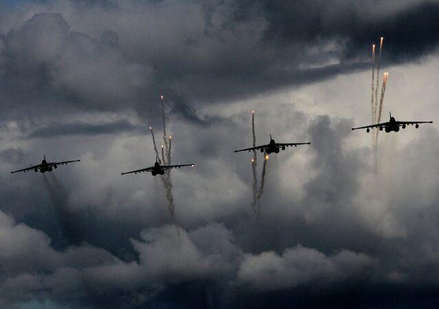 Aviones de asalto Su-25