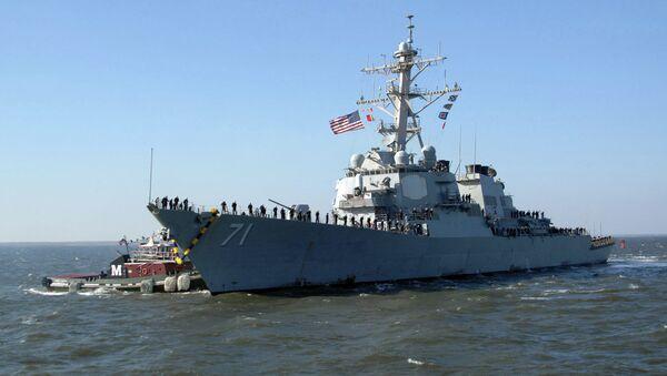 USS Ross de las Fuerzas Navales de los EEUU - Sputnik Mundo