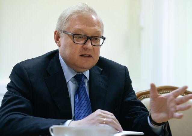 Serguéi Riabkov, viceministro de Exteriores de Rusia