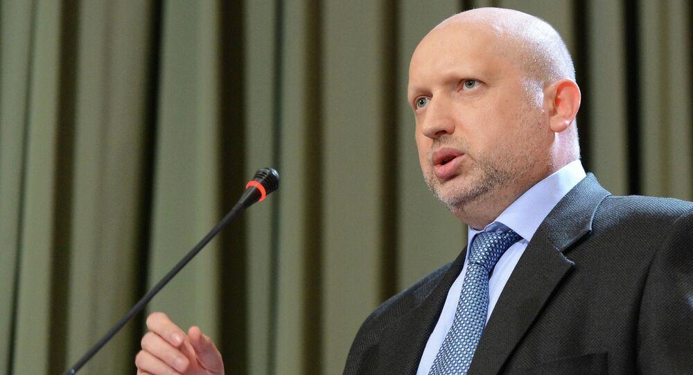 Alexandr Turchinov, secretario del SNBO de Ucrania