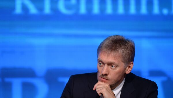 Dmitri Peskov, portavoz del presidente Vladímir Putin - Sputnik Mundo