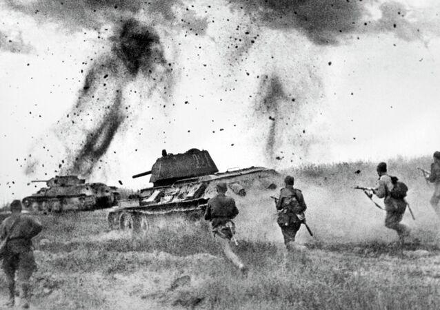 La batalla de Kursk, durante la Gran Guerra Patria