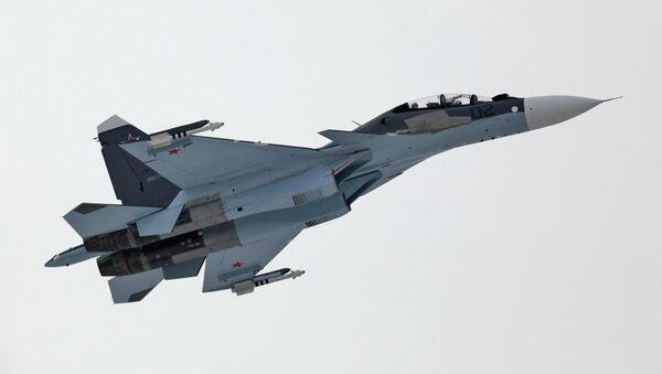 Caza ruso Su-30SM - Sputnik Mundo