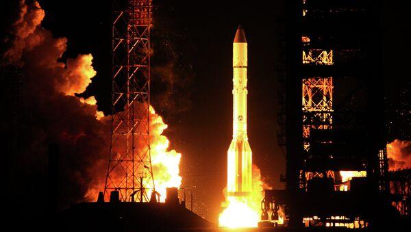 Cohete ruso Protón-M - Sputnik Mundo