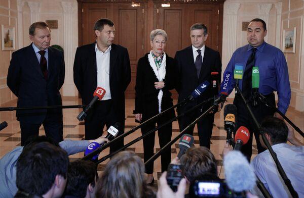 El siguiente encuentro del Grupo de Contacto trilateral se realizará la próxima semana - Sputnik Mundo