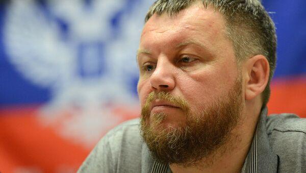 Andréi Purguín, presidente del Parlamento de la autoproclamada República Popular de Donetsk (RPD) - Sputnik Mundo