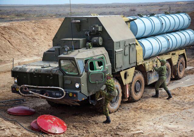 Sistema de defensa antiaérea S-300