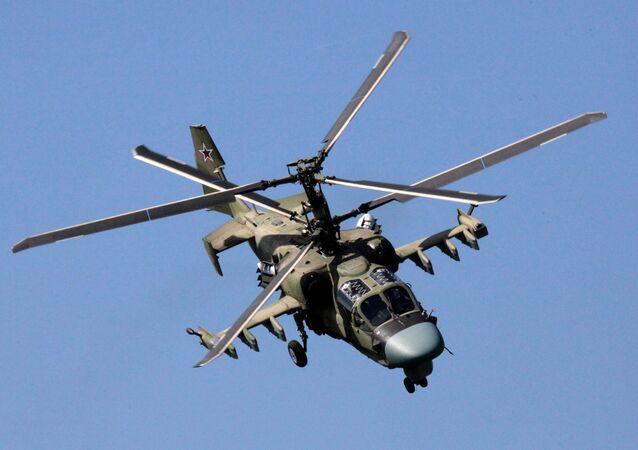 Helicóptero ruso Ka-52 Alligator