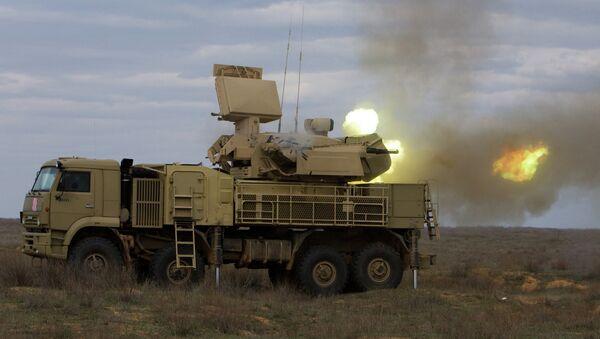Pantsir-S, uno de los sistemas de defensa antiaérea ruso en servicio de las fuerzas armadas de Siria (imagen referencial) - Sputnik Mundo