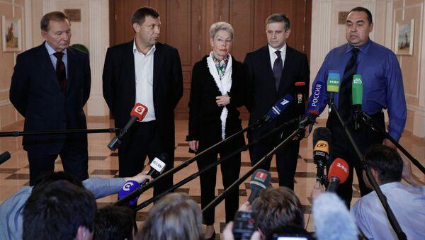 Grupo de Contacto Trilateral en Minsk - Sputnik Mundo
