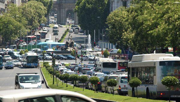 Automóviles en Madrid - Sputnik Mundo