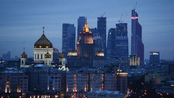 Catedral de Cristo Salvador, sede de la Cancillería rusa y Centro Internacional de Negocios de Moscú - Sputnik Mundo