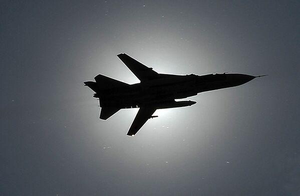 Bombardero táctico ruso Su-24 - Sputnik Mundo