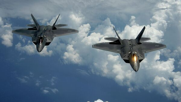 Cazas F-22 Raptor - Sputnik Mundo