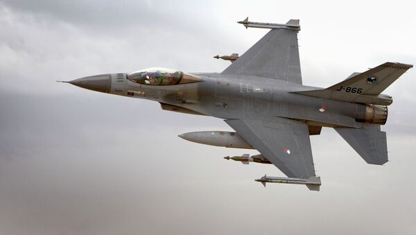Holanda enviará cazas F-16 para combatir el EI en Irak - Sputnik Mundo