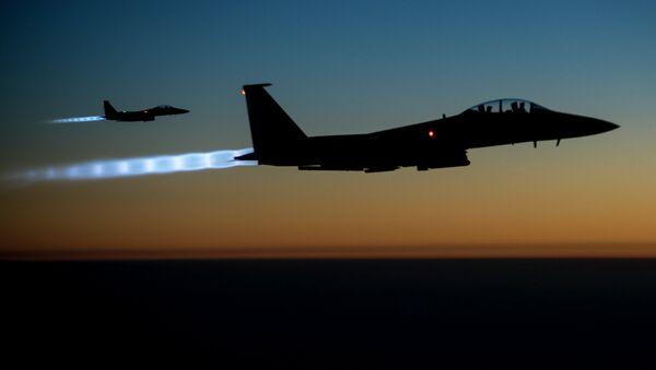La coalición liderada por EEUU en Siria e Irak - Sputnik Mundo
