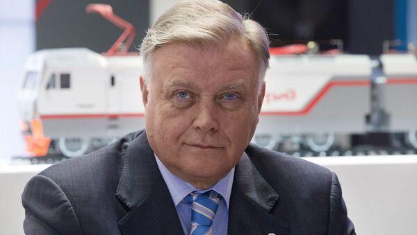 Vladímir Yakunin, jefe del monopolio ferroviario ruso RZhD - Sputnik Mundo