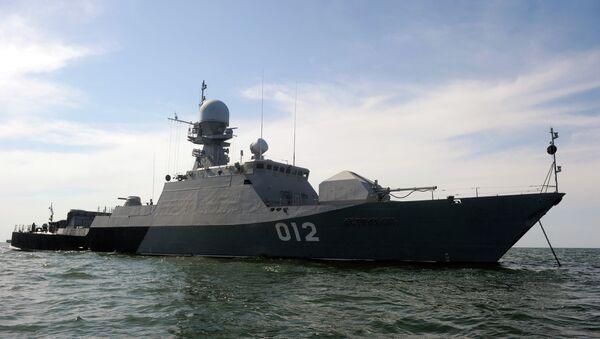 Concurso internacional de armadas Mar Caspio se realizará en agosto de 2015 - Sputnik Mundo