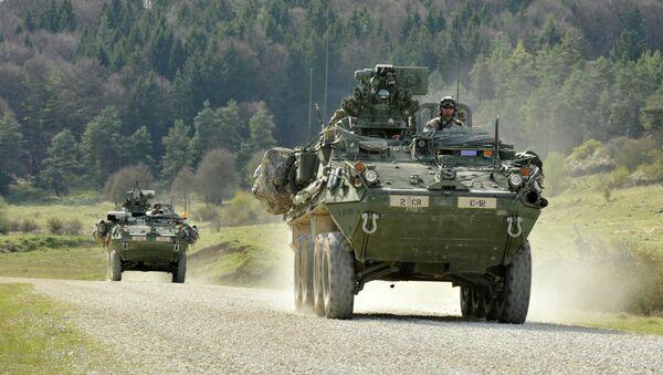 Бронированные боевые машины Stryker - Sputnik Mundo