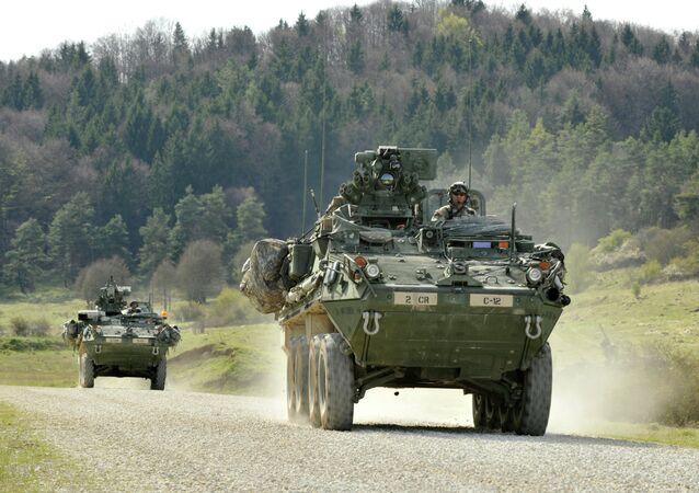 Transportes blindados Stryker