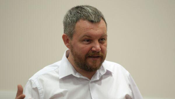 Andréi Purguín, jefe del Parlamento de la autoproclamada República Popular de Donetsk - Sputnik Mundo