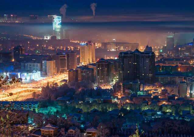 Almaty, urbanización
