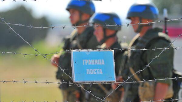 Soldados rusos en Transnistria - Sputnik Mundo