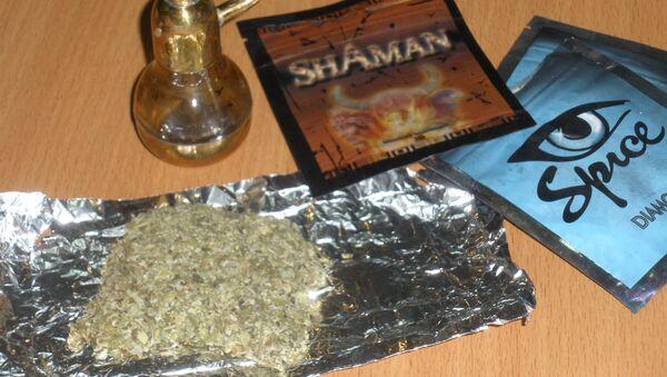 Marihuana sintética, conocida como spice - Sputnik Mundo