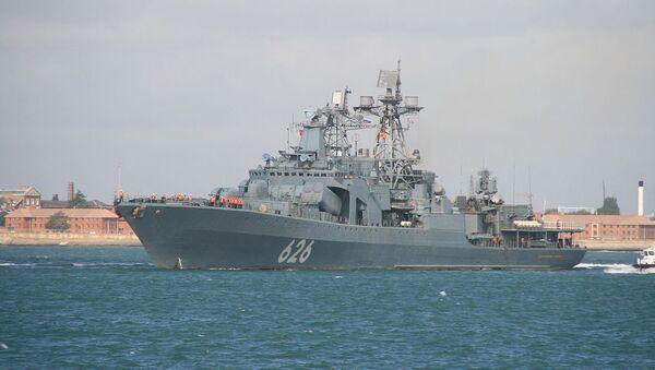Buque ruso Vicealmirante Kulakov - Sputnik Mundo