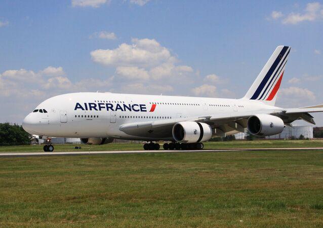 Un avión de la aerolínea Air France