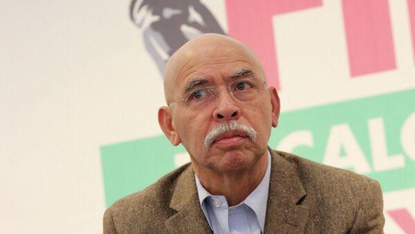 Мексиканский журналист, специалист по наркотрафику и писатель Хосе Ревелес - Sputnik Mundo