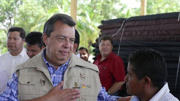 Ángel Aguirre, gobernador del estado de Guerrero - Sputnik Mundo