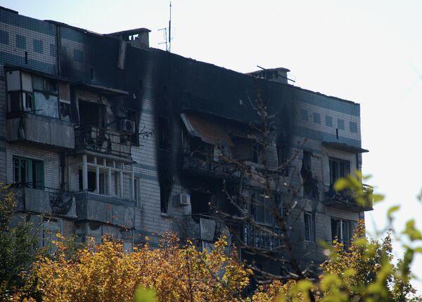 """Las milicias, """"forzadas"""" a abrir fuego para detener los bombardeos de Donetsk - Sputnik Mundo"""